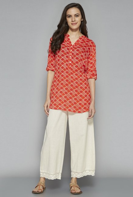 Utsa by Westside Red Kurti