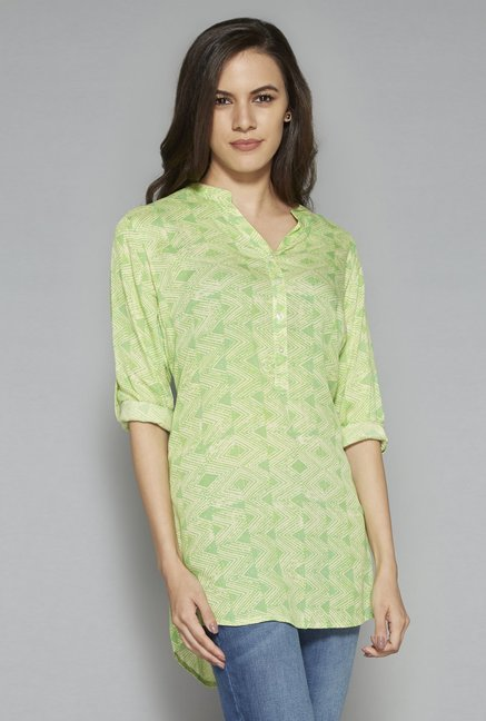 Utsa by Westside Lime Kurti