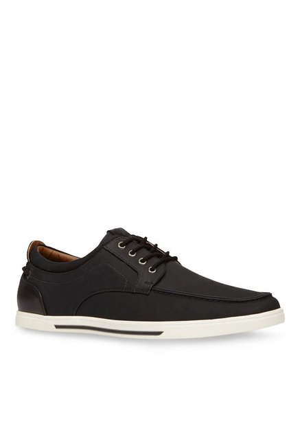 ee29b3726 Buy Call It Spring Fabiano Black Boat Shoes for Men at Best Price   Tata  CLiQ