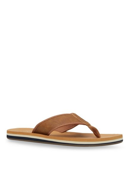 34740b6cadb Buy Call It Spring Dalphond Cognac Thong Sandals for Men at Best Price   Tata  CLiQ