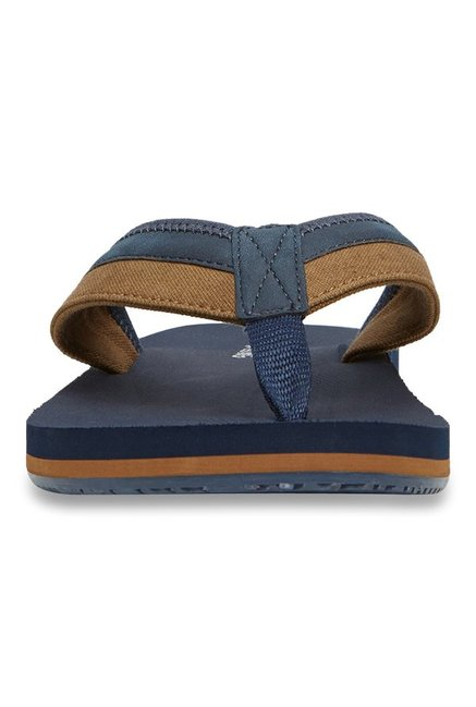 702833286628 Buy Call It Spring Vilpiano Navy   Brown Thong Sandals for Men at ...