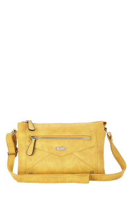 1da78efd536 Buy Lavie Verso Ochre Solid Sling Bag For Women At Best Price   Tata CLiQ