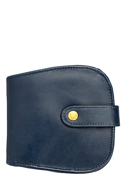 dabf5fb91e5 Buy Hidesign Chestnut W2 E.I Navy RFID Leather Wallet For Women At Best  Price   Tata CLiQ