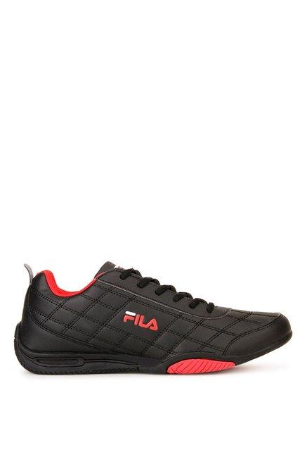 2e194480b0b4 Buy Fila Sterling II Black   Red Sneakers for Men at Best Price ...