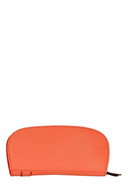 Lavie Linen Orange Belted Wallet