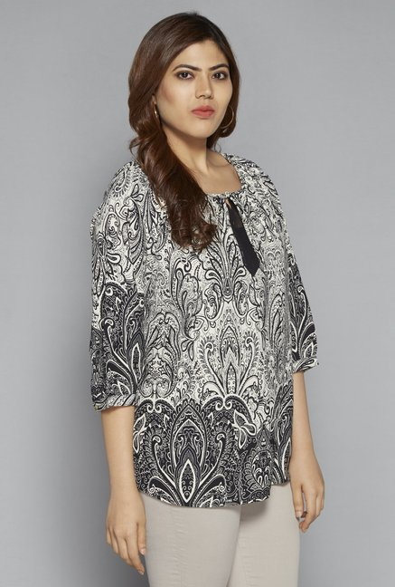 bed4a7149 Buy Gia by Westside Black Uma Blouse for Women Online   Tata CLiQ