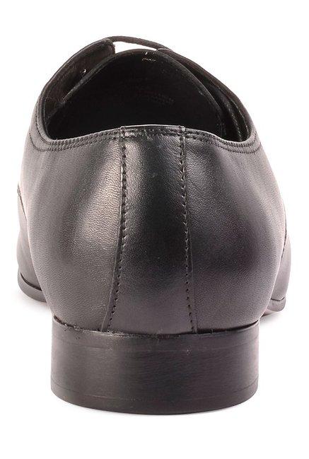 d3ca28e2dfc Buy Steve Madden Henson Black Derby Shoes for Men at Best Price ...