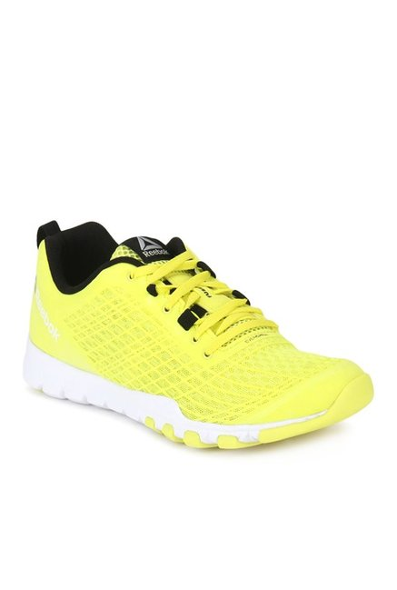 e48545af90b396 Buy Reebok Everchill Yellow Training Shoes for Women at Best Price   Tata  CLiQ