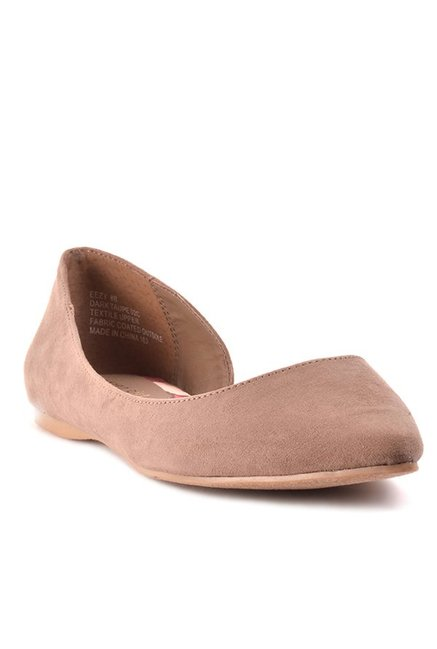 9a739ee6a433 Buy Madden Girl Eezy Light Brown D orsay Shoes for Women at Best ...