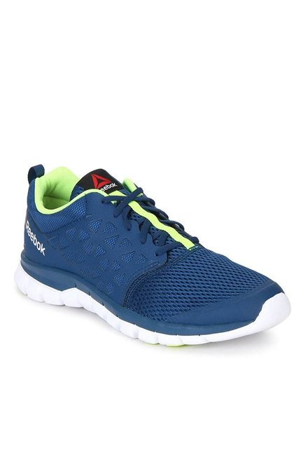 4d78385b47fb Buy Reebok Sublite XT Cushion 2.0 Blue Running Shoes for Women at Best  Price   Tata CLiQ