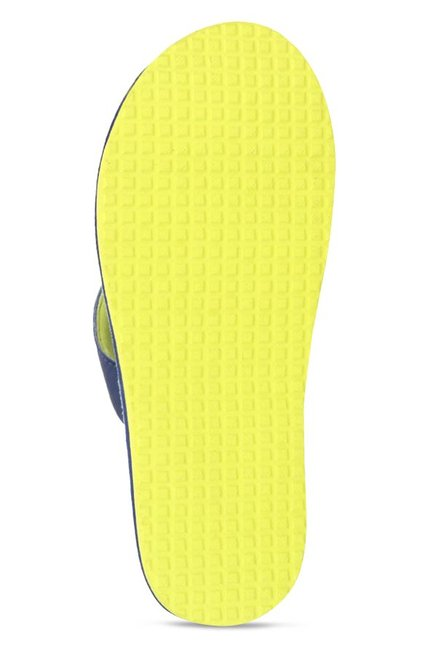 b792fb895 Buy Reebok Advent Navy   Neon Green Flip Flops for Men at Best Price ...
