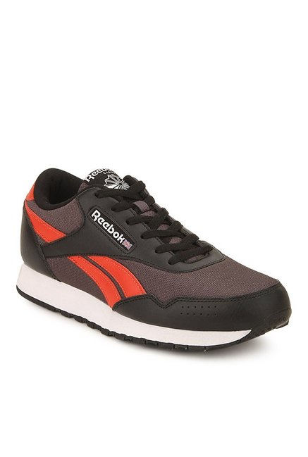 4a5111a1be50 Buy Reebok Classic Protonium Q3 Black   Orange Training Shoes for ...