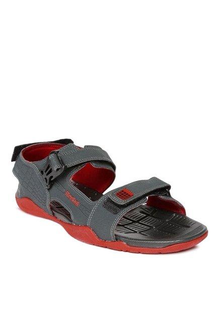 00bee6176487d7 Buy Reebok Adventure Z Supreme Dark Grey Floater Sandals for Men ...