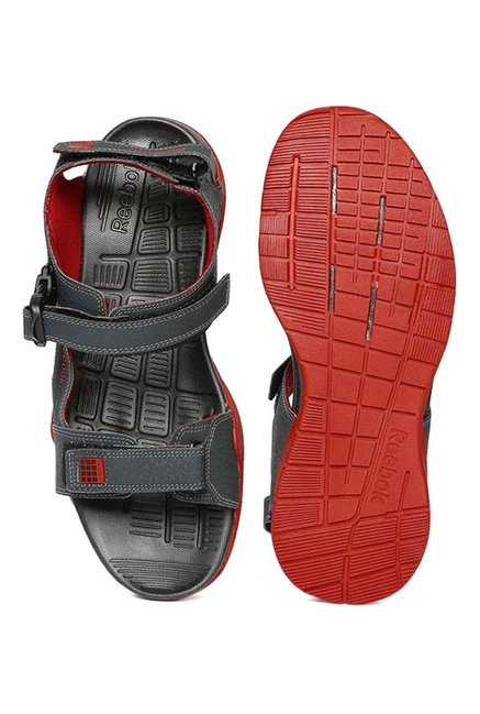 14292327579a72 Buy Reebok Adventure Z Supreme Dark Grey Floater Sandals for Men at ...