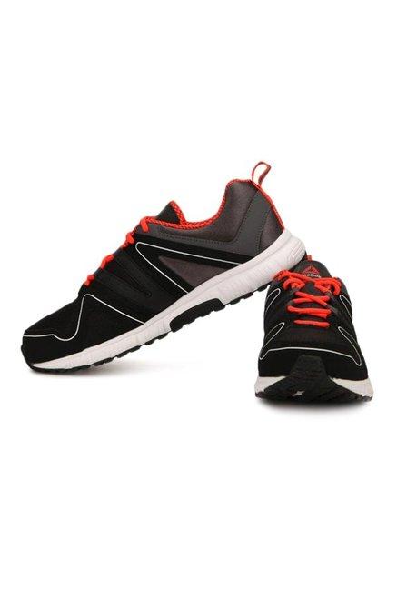 698eb75c8357af Buy Reebok Performance Run Black   Red Running Shoes for Men at Best ...