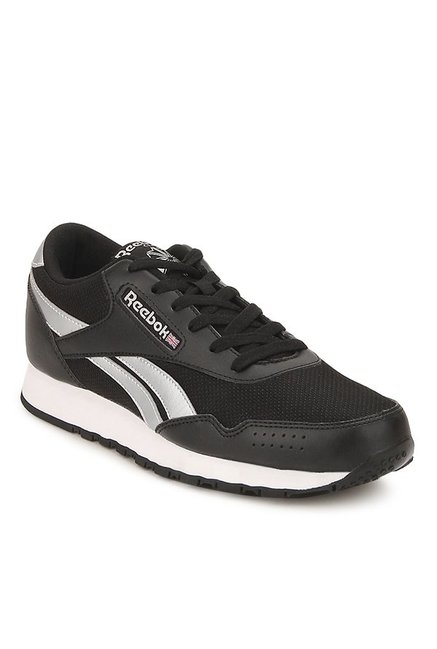 bb284154f00 Buy Reebok Classic Protonium Q3 Black   Silver Running Shoes for Men at Best  Price   Tata CLiQ