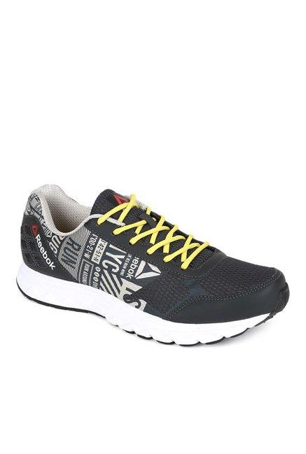 ca49c4e1ab1 Buy Reebok Run Voyager Black   Light Grey Running Shoes for Men ...