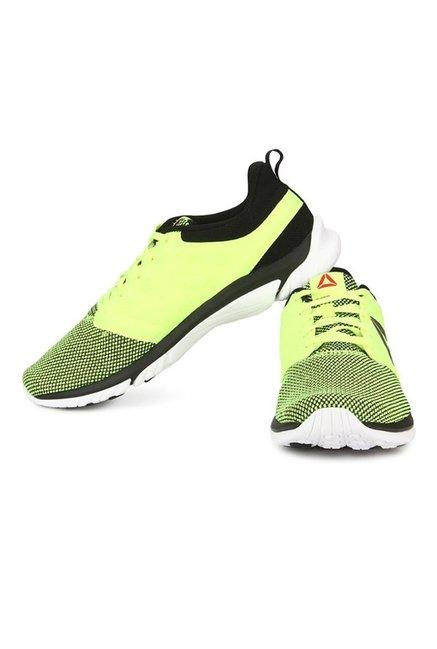 46761cc1bc685b Buy Reebok Zstrike Run SE Lime Green   Black Running Shoes for Men ...
