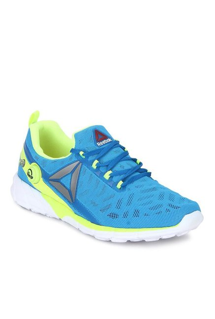 f9660761532a Buy Reebok Zpump Fusion 2.5 Blue   Lime Green Running Shoes for ...