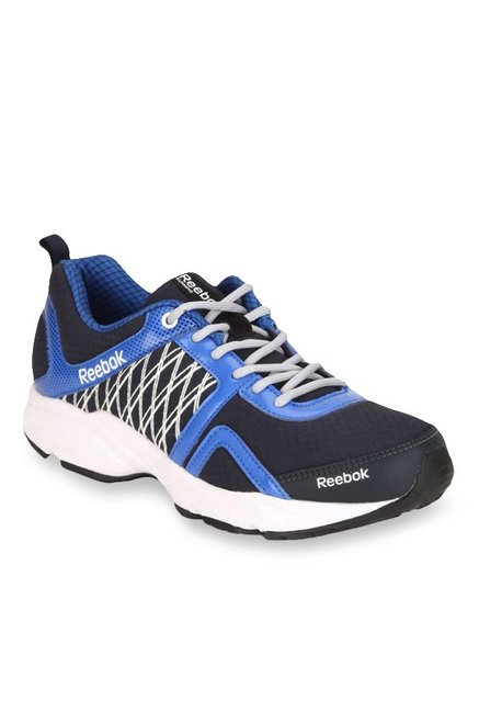 0419f1c47c0fb3 Buy Reebok Smooth Speed Navy Blue Running Shoes for Men at Best Price    Tata CLiQ
