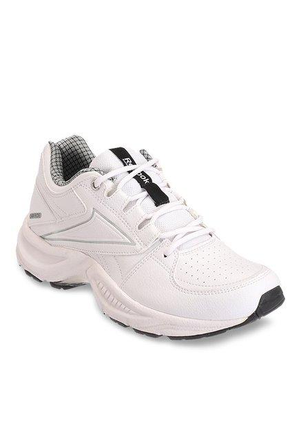 84eb55ed9d06 Buy Reebok Comfort Run LP White Running Shoes for Men at Best Price   Tata  CLiQ