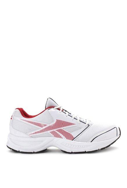 ebd99f20d975 Buy Reebok City Runner LP White   Red Running Shoes for Men at Best ...