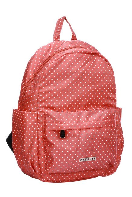 buy caprese marilyn red polka dot backpack for women at best price