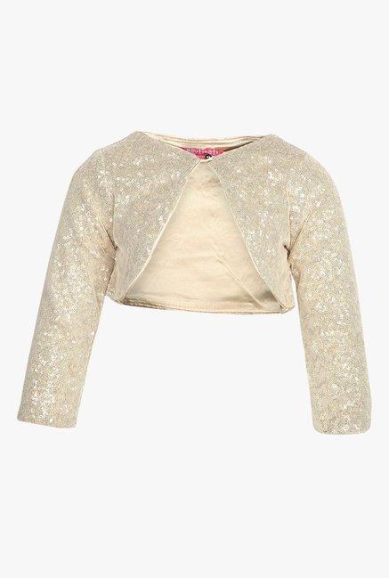 698a78599 Buy Nauti Nati Beige Embellished Shrug for Infant Girls Clothing ...