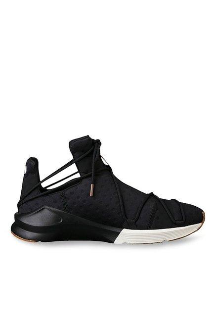 1da9be09e81196 Buy Puma Fierce Rope VR Black Training Shoes for Women at Best ...