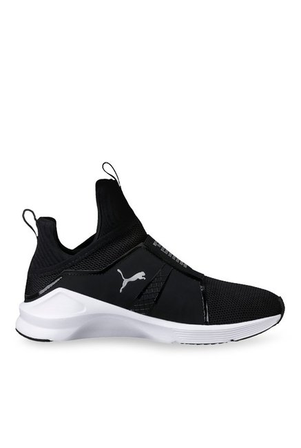 04b87db8b160 Buy Puma Fierce Core Black   Silver Training Shoes for Women at Best Price    Tata CLiQ