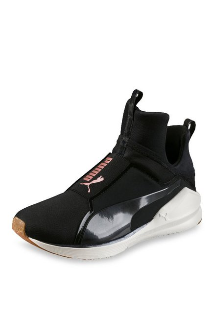 new concept c375d ecb77 Buy Puma Fierce VR Black Training Shoes for Women at Best ...