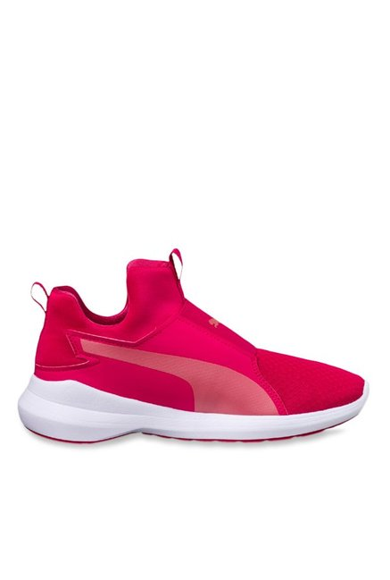 5633ef600fac Buy Puma Rebel Mids Love Potion   Rapture Rose Training Shoes for Women at  Best Price   Tata CLiQ
