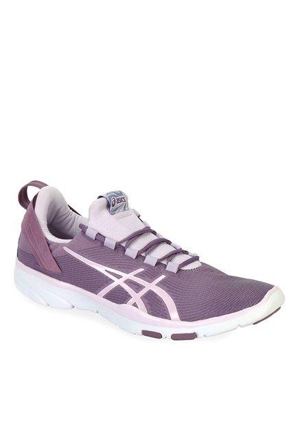 aacf7163 Buy Asics Gel-Fit Sana 2 Purple Grape & White Training Shoes ...