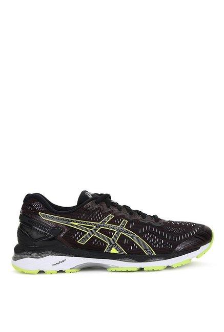 new concept 628c4 ad17c Buy Asics Gel-Kayano 23 Lite Black Running Shoes for Men at ...