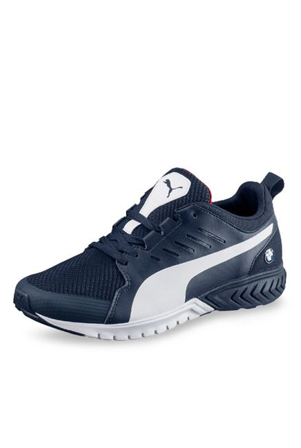 Buy Puma BMW MS Pitlane Team Blue   White Running Shoes for Men at ... abb48a01d