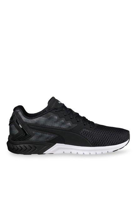 Buy Puma Ignite Dual Black   Quiet Shade Running Shoes for Men at Best Price    Tata CLiQ 9bb27f03b
