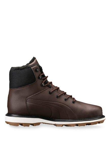 kosten charm verschiedenes Design billiger Verkauf Buy Puma Desierto Fun L Chocolate Brown Casual Boots for Men ...