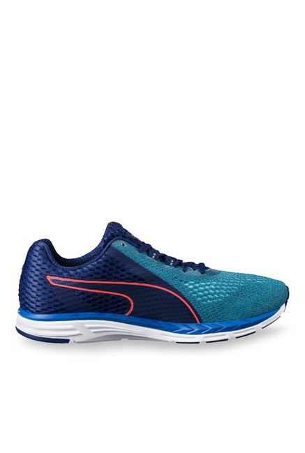 91d72982b60 Buy Puma Speed 500 Ignite 2 Blue Depths   Teal Running Shoes for ...