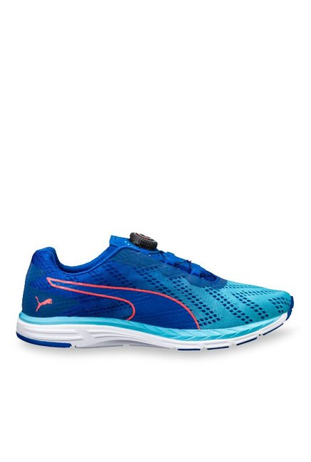 cfec4b958dd Buy Puma Speed 500 Ignite Disc 2 Lapis Blue Running Shoes for Men at Best  Price   Tata CLiQ