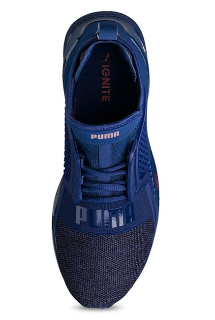 Buy Puma Ignite Limitless Knit Blue Depths Training Shoes for Men at ... c9557cf2c