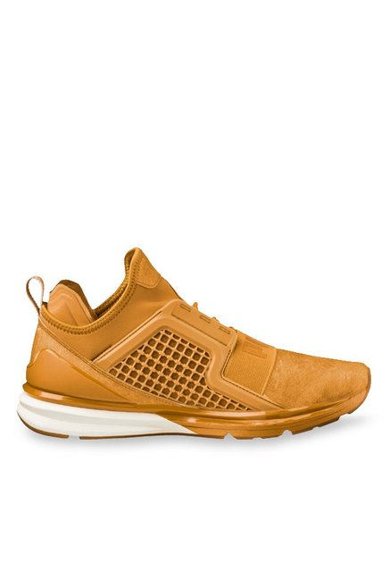 25a8bcd046e Buy Puma Ignite Limitless Inca Gold Training Shoes for Men at Best ...