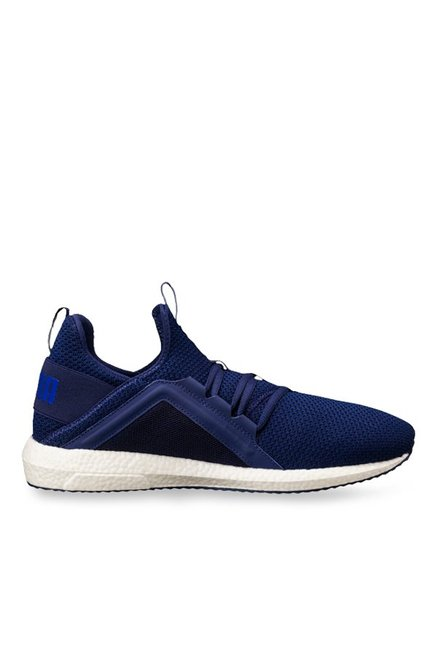 Buy Puma Mega NRGY Knit Blue Depths Running Shoes for Men at Best Price    Tata CLiQ 1a8ea2bee