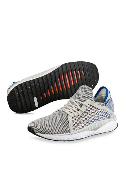 Buy Puma TSUGI Netfit Light Grey   Blue Training Shoes for Men at ... a2e7593ce