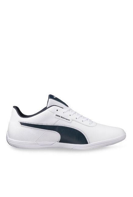 a905718e4ae4 Buy Puma BMW MS MCH Lo White   Team Blue Sneakers for Men at Best Price    Tata CLiQ