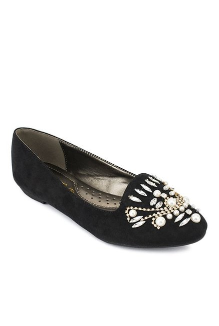 Truffle Collection Black Casual Loafers