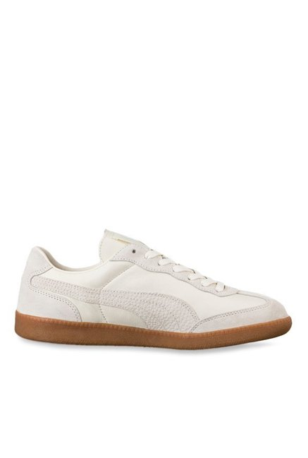 18ad7fef9464af Buy Puma Liga Whisper White Sneakers for Men at Best Price   Tata CLiQ