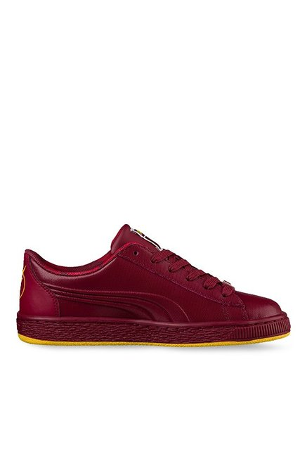 e29ab6451e5 Buy Puma JL Basket Jr Flash Tibetan Red Sneakers for Boys at Best Price   Tata  CLiQ