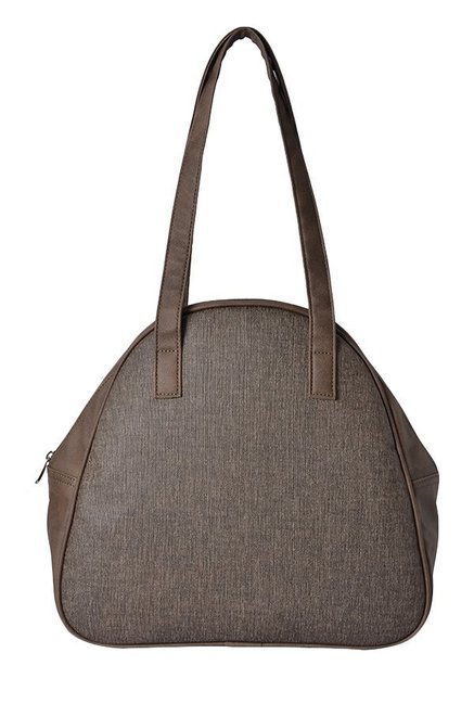 Baggit LXE3 Trudel Y G E Utsav Brown Solid Shoulder Bag