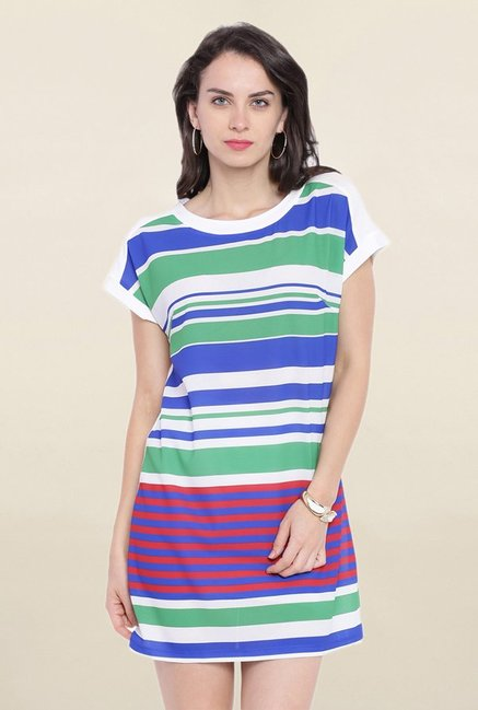 Avirate Multicolor Striped Dress