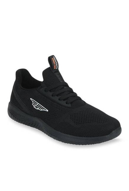 Red Tape Athleisure Black Running Shoes
